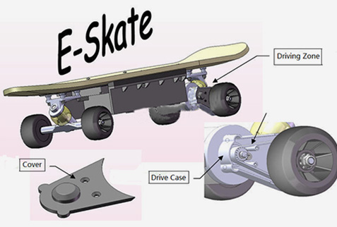 PU Wheels for Sakte Board