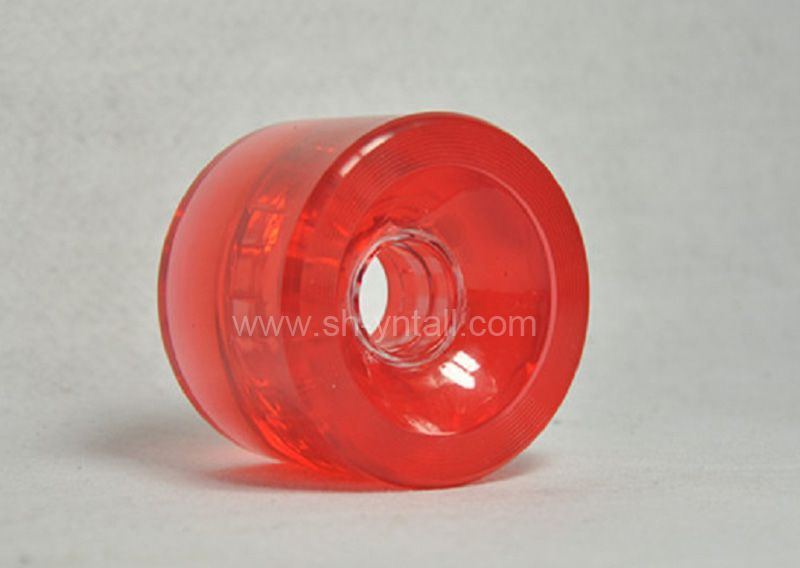 PU Wheels 70X51 Transparent Red