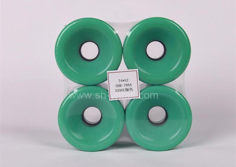 pu wheels for skate board 74*52