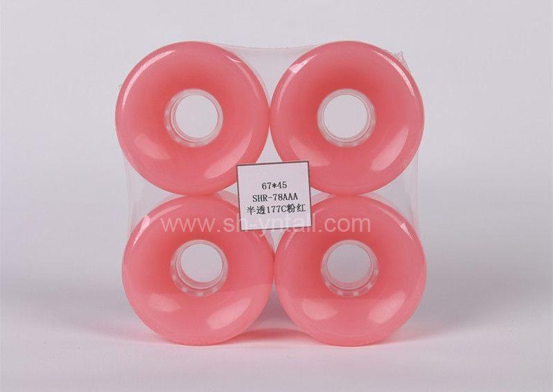 pu wheels for skate board 67*45