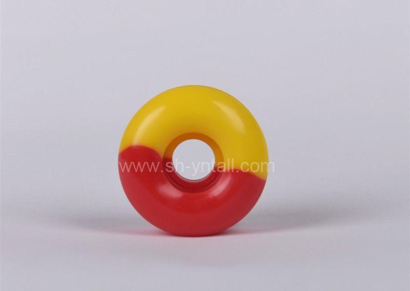 pu wheels for skate board 53*32 round half half
