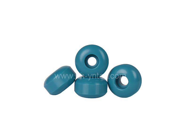 pu wheels for skate board 52*32 blue