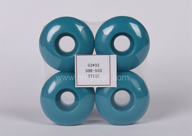 pu wheels for skate board 52*32 blue