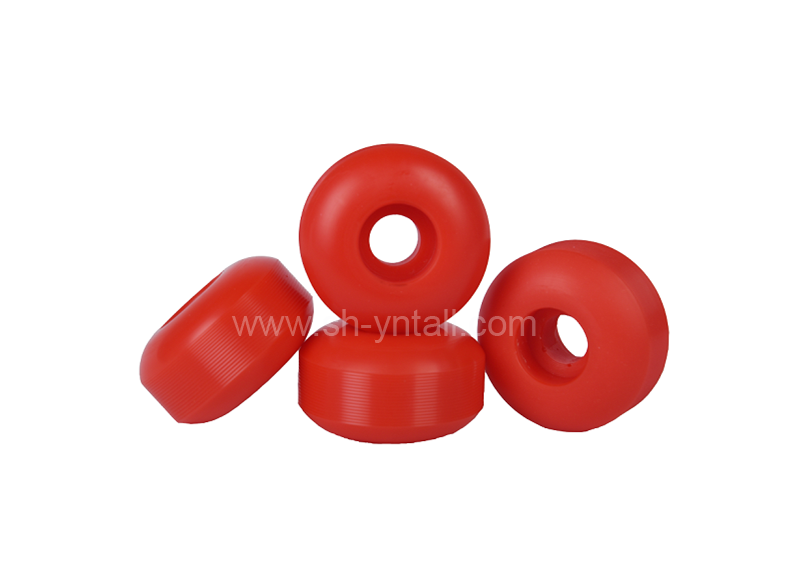 pu wheels for skate board 52*30 red