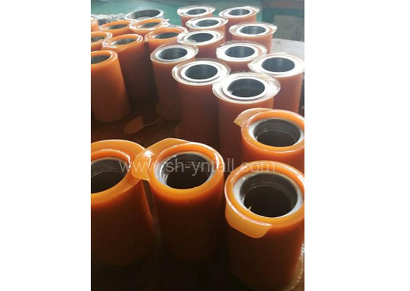 PU roller Rice Hulling Rolls Fiberglass Chopping Cots rotational rolls