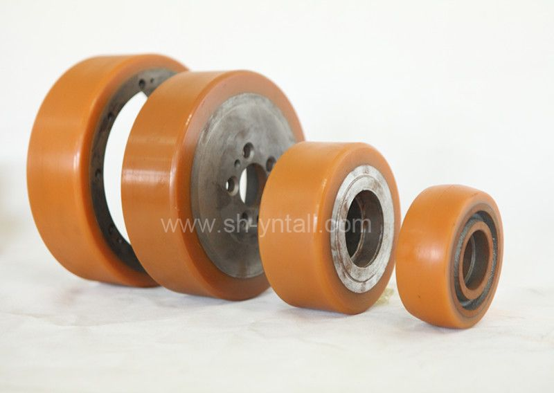 PU Castor Wheels for forklift for good dynamic for ferris wheel